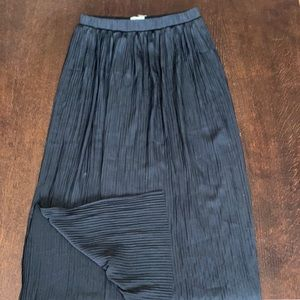 Wilfred midi skirt with slit